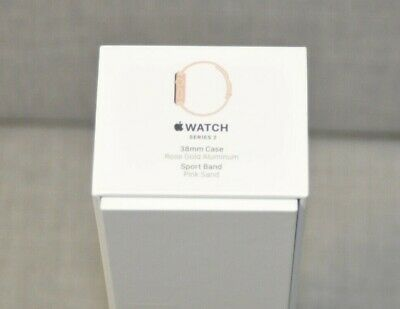 EMPTY Apple Watch Series 2 38mm BOX ONLY No Watch No Accessories Rose