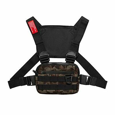 Tactical Running Backpack Vest Cell Phone and Accessories Holder camouflage