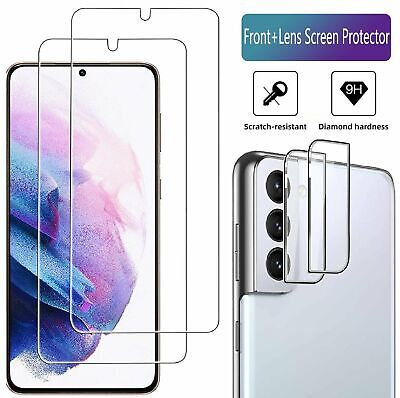 For Samsung Galaxy S21 S21 Plus 5G Camera LensTempered Glass Screen Protector