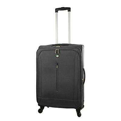 Mia Toro Italy Tena Softside 24 Inch Spinner Gray One Size