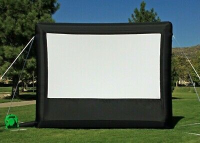 NEW Elite Outdoors Inflatable Backyard 10 Feet Home Movie Screen Never Used