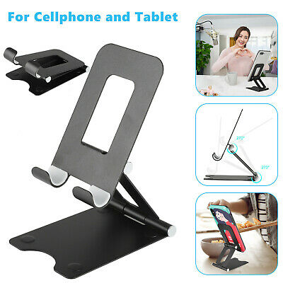 Cell Phone Tablet Switch Stand Aluminum Desk Table Holder for iPhone Android USA