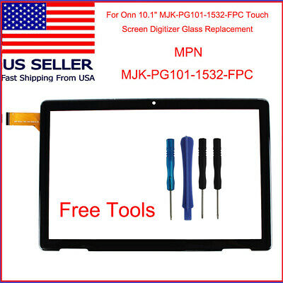 For 10-1 ONN 100011886 Touch Screen Digitizer Tablet New Replacement w Tool Set