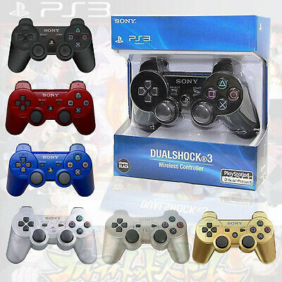 PS3 Controller PlayStation 3 DualShock Wireless SixAxis Controller GamePad