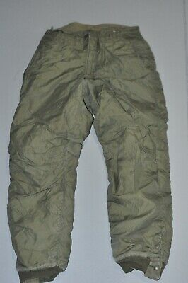 Vintage WWII Navy Wool Lined Deck Coveralls Overalls Medium Olive Green USED