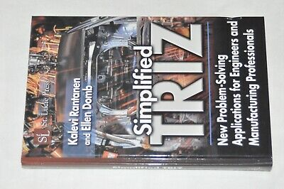 Simplified TRIZ New Problem-Solving Applications for Engineers - Manufacturing
