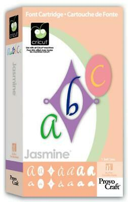 Cricut JASMINE Cartridge 29-0015 Complete with Box PREOWNED