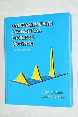 Understanding Statistical Process Control by Donald J- Wheeler 2nd Ed PreOwned