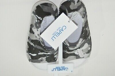 Capelli NY Toddler Little Boys Gray Camouflage Water Shoes Size Toddler C6 NEW