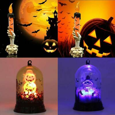 Halloween Party Home Ornaments LED Lantern Light Lamp Props Home Decoration US
