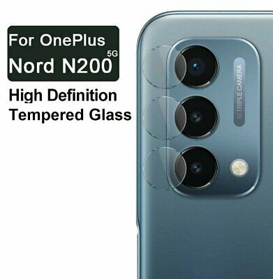 For OnePlus Nord N200 5G HD-Clear 9H Tempered Glass Camera Lens Protector