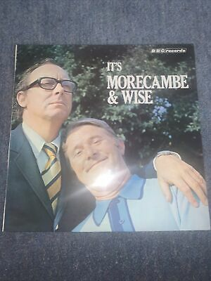 MORECAMBE AND WISE uk LP record ITS  MORECAMBE - WISE -BBC Records-1971