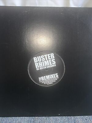 Buster Rhimes Bs Justin Credible The Remixes Lp