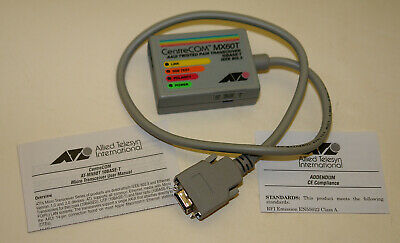 CentreCOM AT-MX60T AAUI Transceiver for Apple Ethernet Computers  BOXED NEW