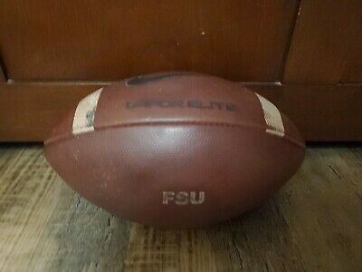 Game Used College Footballs