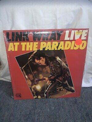 LINK WRAY - LIVE AT THE PARADISO- 1980 PASSPORT LP-