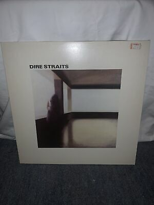 DIRE STRAITS  Classic 1978 Debut vinyl LP- Good Condition Early Pressing-