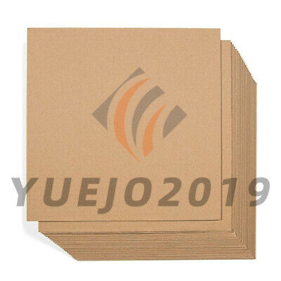 50 Pack Corrugated Cardboard Sheets Inserts for Packing Mailing Crafts 12 x 12