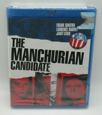 THE MANCHURIAN CANDIDATE BLU-RAY MOVIE FRANK SINATRA LAURENCE HARVEY JANET L-