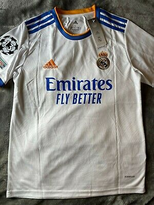 Real Madrid Home 21-22 Jersey