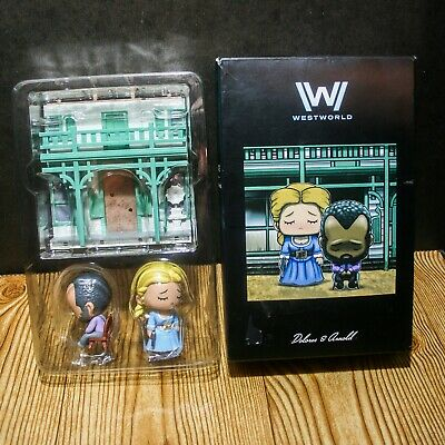 WESTWORLD Collectible Diorama - Dolores And Arnold - Loot Crate Exclusive HBO