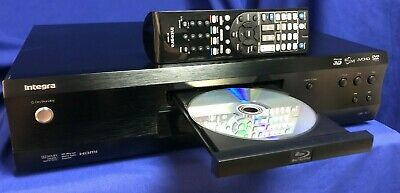 Integra DBS-30-3 Blu-Ray Disc Player with Working Remote 100 Tested- Pre-Owned