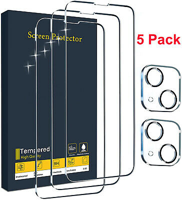 For iPhone 13 12 Pro MaxMini Tempered Glass Screen Protector Camera Full Cover