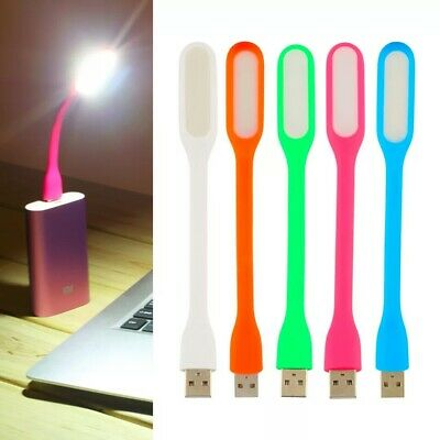 Hot sale 10 Colors Portable For Xiaomi USB LED Light with USB For Power bank/com