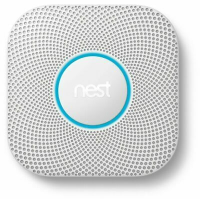 Google Nest Protect Smoke - Carbon Monoxide Alarm 2nd Gen- Wired S3003LWES