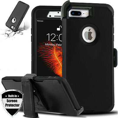 For Apple iPhone 7Plus 8 plus Heavy Duty CaseBelt Clip fits Otterbox Defender