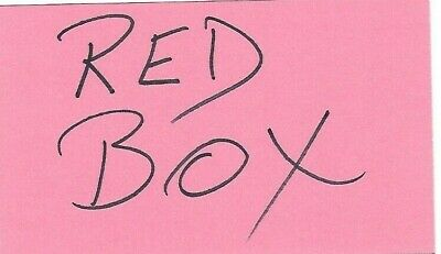 10 Red Box Gift Certificate