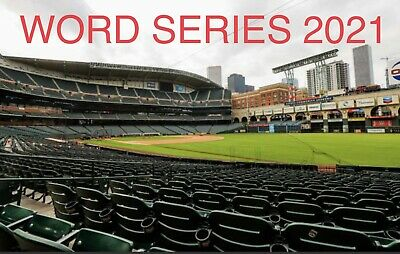 2 WORLD SERIES TICKETS ASTROS HOME GAME 2 WEDNESDAY NIGHT MINUTE MAID PARK 1027