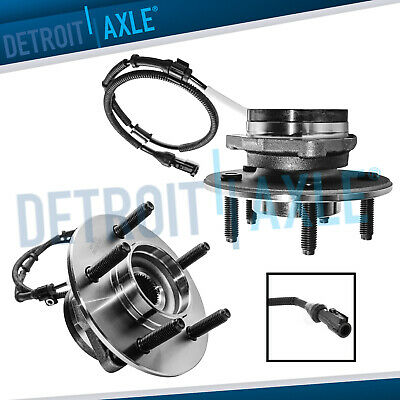 2 Front Wheel Bearing - Hub for 2000 2001 2002 2003 Ford F-150 -14mm 4WD ABS