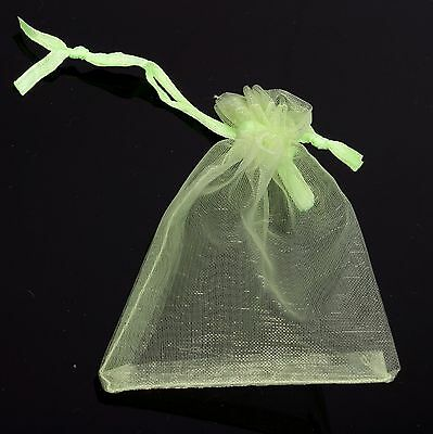 50pcs Bulk Candy Color For Gift Pouch Organza Bags Wedding Festival Fits