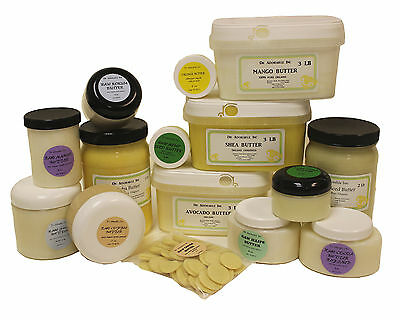 Organic Butters 100 Pure RAW Fresh Natural 2oz 4 oz  up to 12 Lb Free Shipping