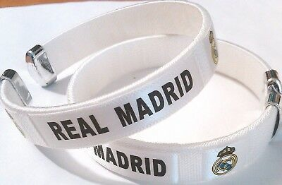 New Real Madrid Football Soccer Team Wristband Wristlet Bracelet