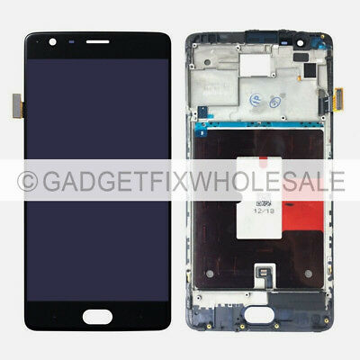 OEM OLED LCD Display Screen Touch Screen Digitizer - Frame For Oneplus 3T A3010