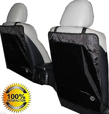 Luxury Kick Mat - for Car Seat Back Protectors 2 Pack Keep Your Seats 100 Clean