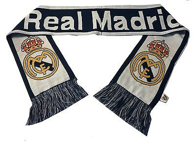 Real Madrid Scarf Winter New Colors Blue and White New season