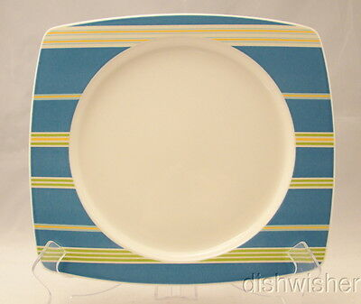 Mikasa High-Fired Ironstone COLOR WEAVE NAVY CX008 Salad Plate 10 x 9