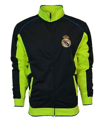 Real Madrid Jacket Track Soccer Adult Sizes Soccer S  M  L XL