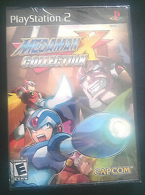Mega Man X Collection Sony PlayStation 2 2006 NEW