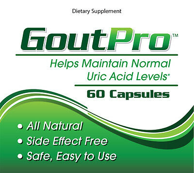 GoutPro - Gout Pain Relief - Gout Treatment Remedy - Uric Acid Support - Cleanse