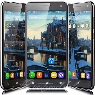Cheap Unlocked 5-5 Android5-1 Mobile Smart Phone Quad Core Dual SIM WiFi GPS 3G