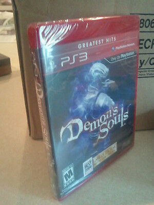DEMONS SOULS NEW SONY PLAYSTATION 3 PS3 GAME