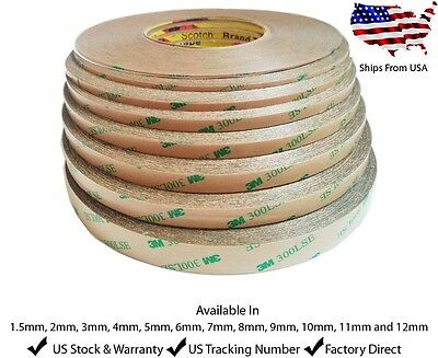 Double Sided 3M 300LSE STICKY HEAVY DUTY ADHESIVE TAPE For Cell Phone Repair