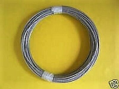 Vinyl Coated STAINLESS STEEL Cable 18 - 316 7x19  50 ft