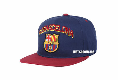 Fc Barcelona snapback soccer hat cap  official adjustable licensed product