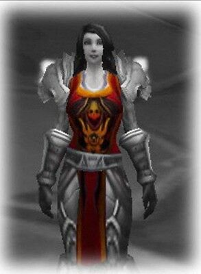 TABARD OF THE FLAME - RED  WORLD OF WARCRAFT LOOT from TCG Landro Longshot