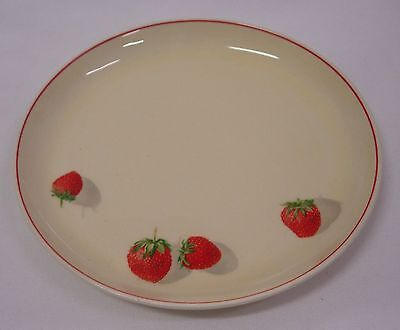 CAVITT - SHAW STRAWBERRY BREAD AND BUTTER PLATE